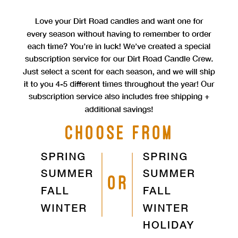 You Pick 5 - Seasonal + Holiday - 8 ounce