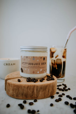 16 oz. Boujuee Brew Soy Candle