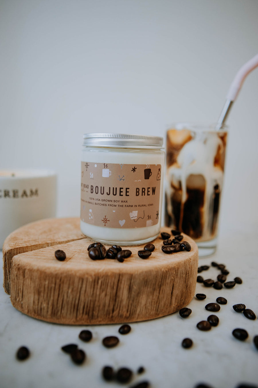 8 oz. Boujuee Brew Soy Candle