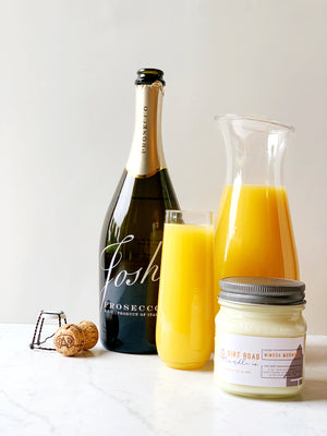 8 oz. Mimosa Morning Candle