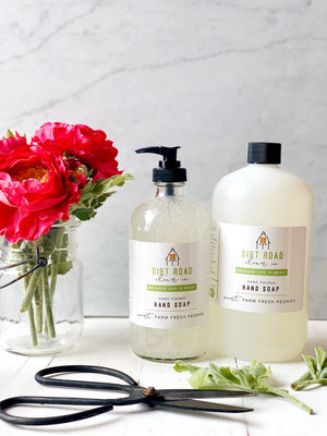 16 oz. Farm Fresh Peonies Hand Soap
