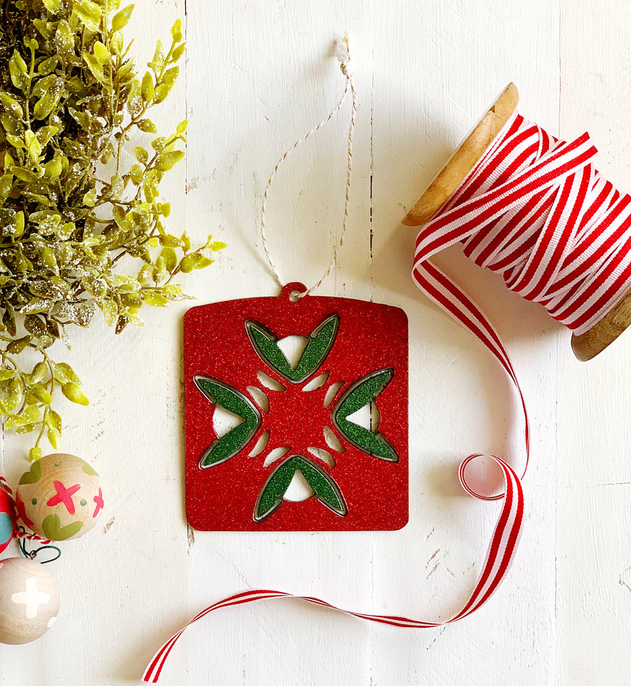 Barn Quilt Ornament