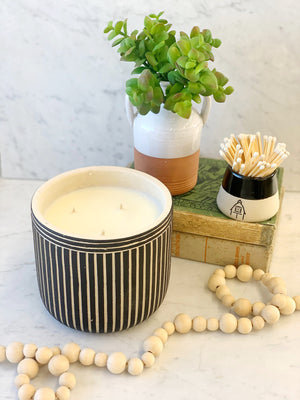 28 oz. Mama's Kitchen Cement Planter Candle