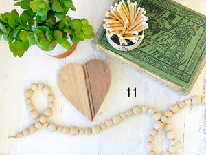 Heart Wood Reclaimed Trivets