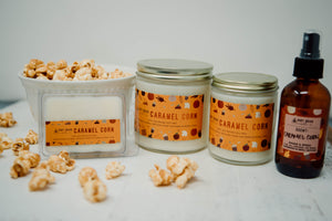 16 oz. Caramel Corn Candle