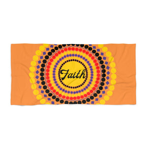 Faith Dots Beach Towel