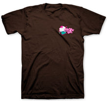 Load image into Gallery viewer, Kerusso Cherished Girl Faith, Hope, Love and Chocolate Women's T-shirt