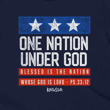 Load image into Gallery viewer, One Nation Under God Kids Patriotic T-Shirt