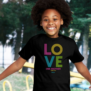 Kids Love Stripes Christian T-Shirt For Children