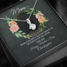 Load image into Gallery viewer, Ribbon Allure Necklace For Mother's Day With Message Card - Your Belief