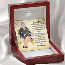 Load image into Gallery viewer, Ribbon Shaped Necklace - Mother's Day - Grandma - Wonderfully Made