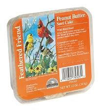 FEATHERED FRIEND PEANUT BUTTER SUET