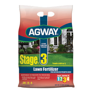 AGWAY STAGE 3 LAWN FERTILIZER 5,000 SQ. FT.