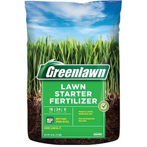 GREENLAWN LAWN STARTER FERTILIZER 5,000 SQ. FT.