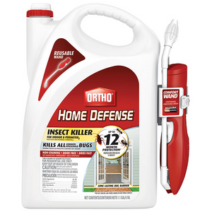 ORTHO HOME DEFENSE INSECT KILLER FOR INDOOR & PERIMETER RTU WAND 1.1 GAL