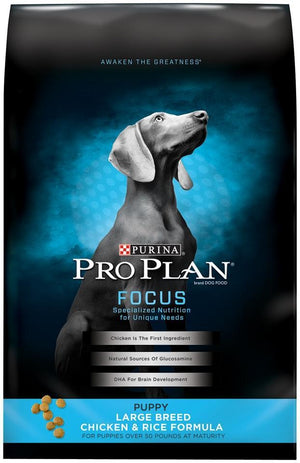 Purina Pro Plan Focus Large Breed Puppy Formula Dry Dog Food