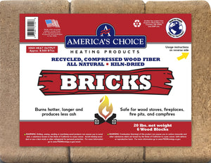 America's Choice Wood Fuel Bricks