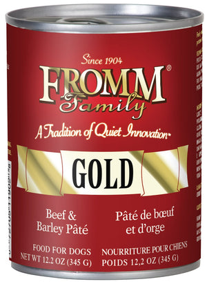 Fromm Beef & Barley Pâté Dog Food