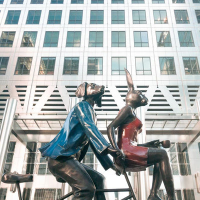 Canary Wharf's public art collection just got bigger to fill the Covid 'gap'