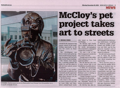 McCloy's pet project takes art to the streets