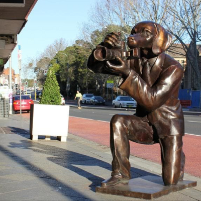 Paparazzi Dog - Opus Design Co, Oxford St, Paddington, NSW 2021