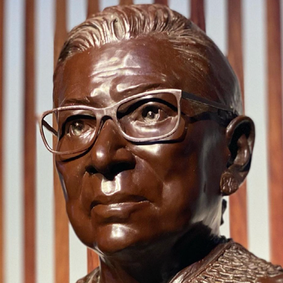 'A BEAUTIFUL HOMAGE': PEOPLE APPLAUD AS RBG STATUE UNVEILED IN BROOKLYN