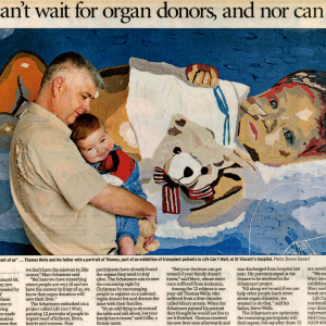 Life Can't Wait for Organ Donors, and Nor Can Art.