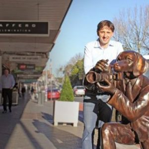 'Dogman' sculpture worth $25,000 stolen from Sydney street