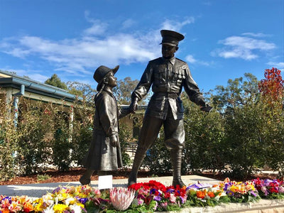 Wollondilly Anglican College statue a fitting tribute to Anzacs