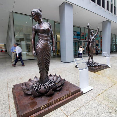 New Statues for Equality Rise Along 6th Avenue