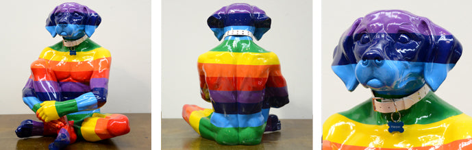 lost-dog-rainbow-sculpture