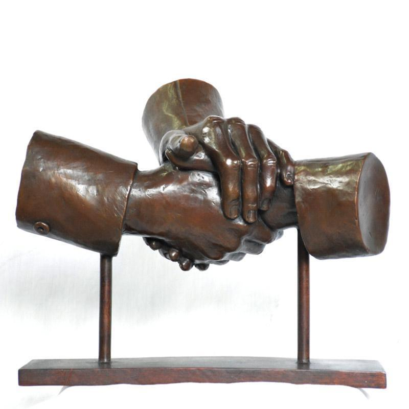 The Agreement (Bronze Sculpture)