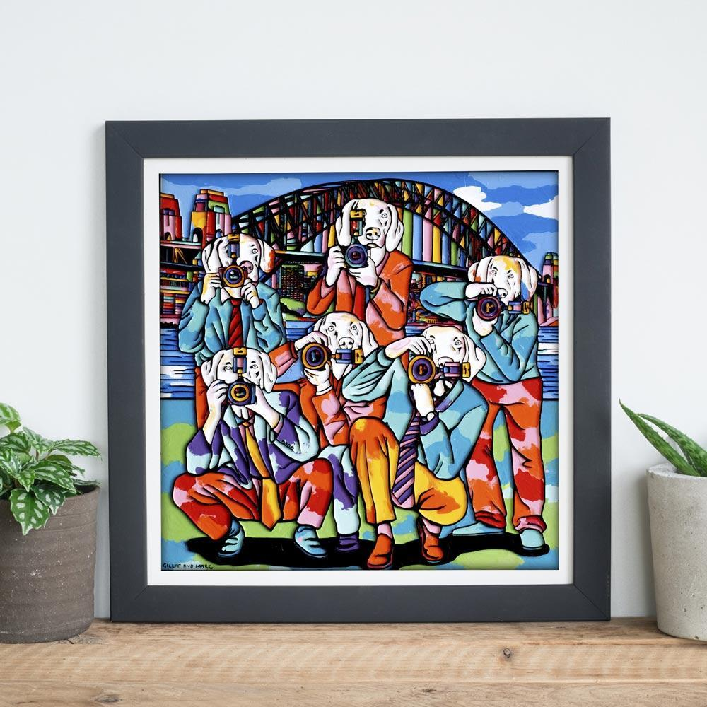 The paparazzi dogs in Sydney (Print)
