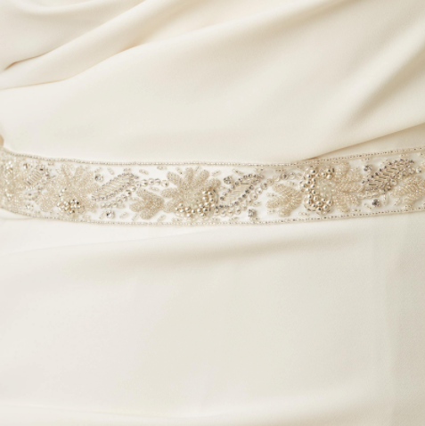 R. B. Bridal Full Wrap Sash