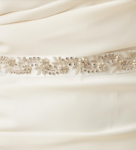 S.D. Bridal Full Wrap Sash