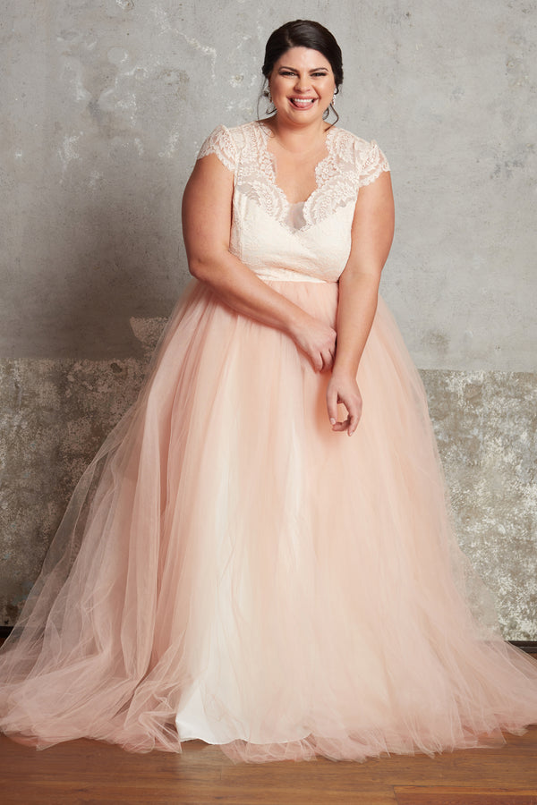 The Blush Anne Gown