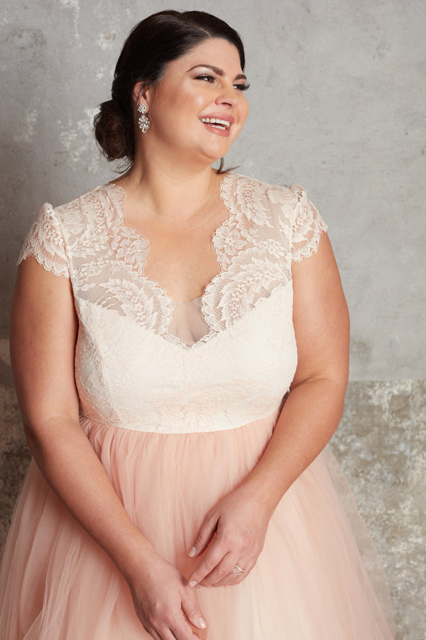 The Blush Anne Gown - Sample
