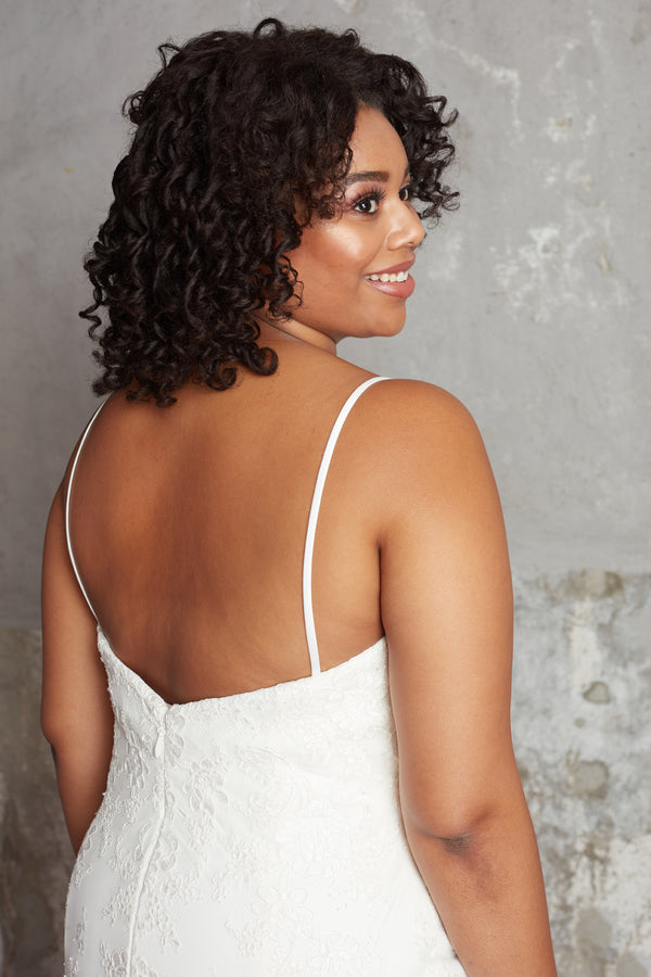 The Lillian Gown - Spaghetti Strap