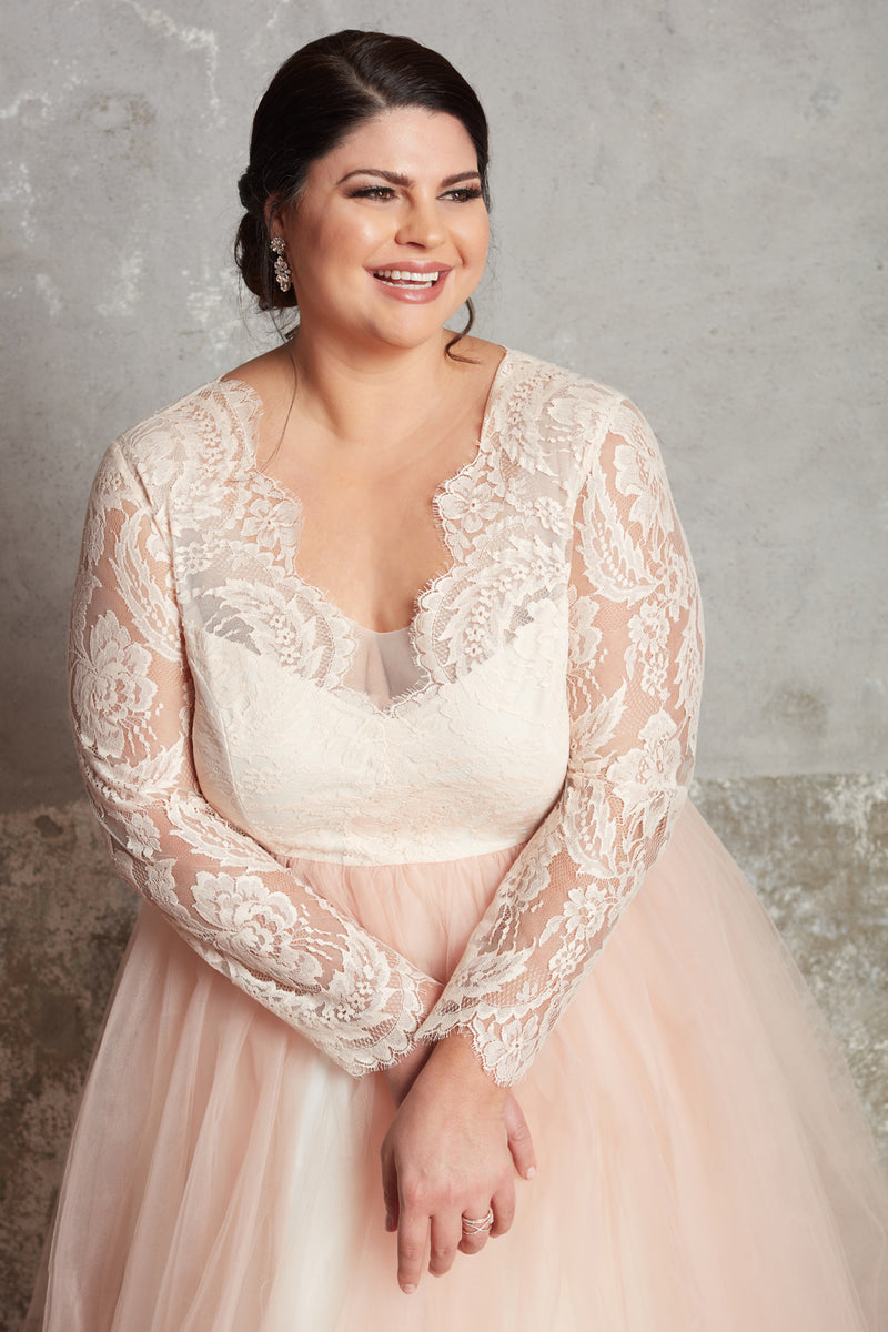 The Blush Michelle Gown - Sample