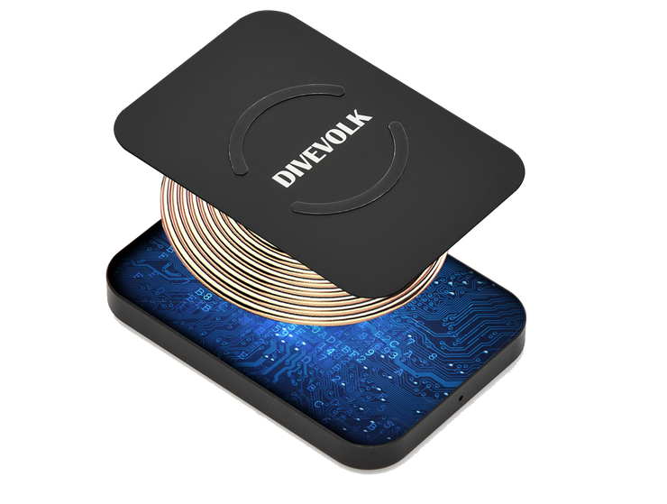 3-Proof Wireless Charger for DIVEVOLK SeaTouch  Underwater Diving Housing,Accessories