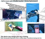 DIVEVOLK SeaTouch 3 PRO underwater iPhone diving housing  ,iphone diving case compatiable to iPhone/ Samsung/ Hua Wei cellphone