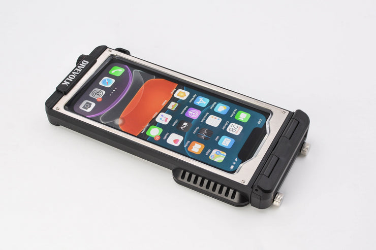 DIVEVOLK  SeaTouch 3  Pioneer  Underwater iPhone housing case designed for water sports enthusiasts
