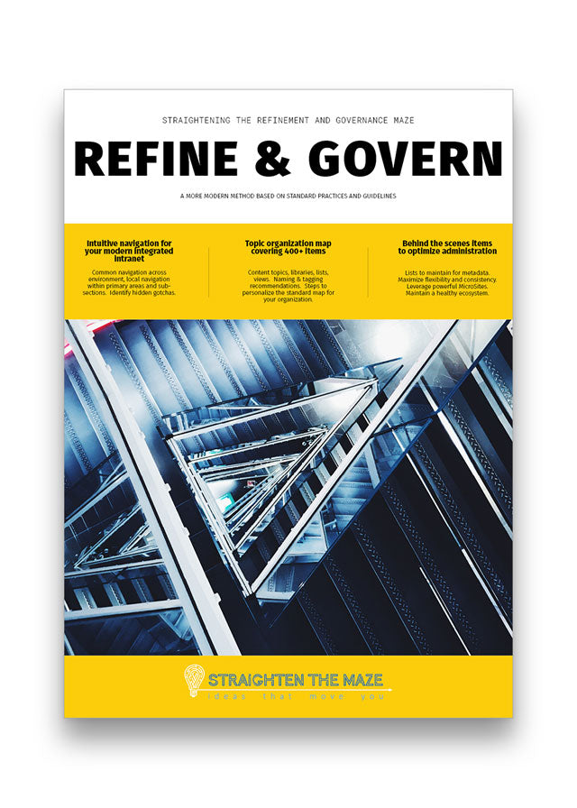 Refine & Govern Report - Available 2020