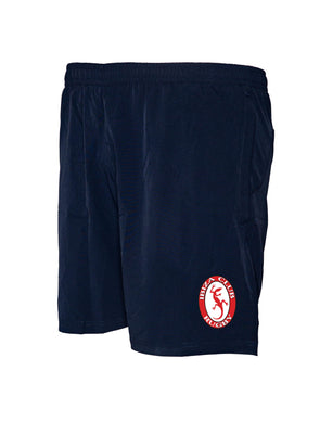 "Ibiza Rugby Tek VII 8"" Gym Shorts - Navy"