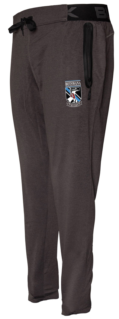 Botswana Rugby Tapered Training Pant - Charcoal