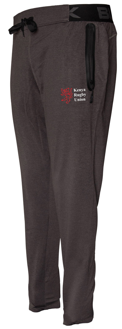 Kenya Rugby Tapered Training Pant - Charcoal