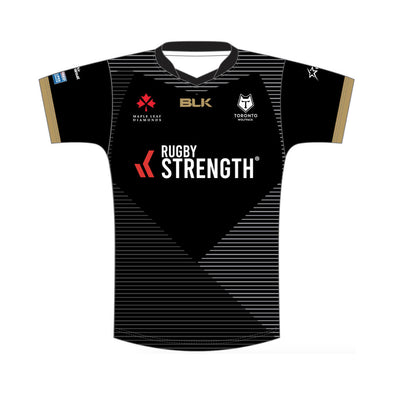 Personalised Toronto Wolfpack Away Replica - Black