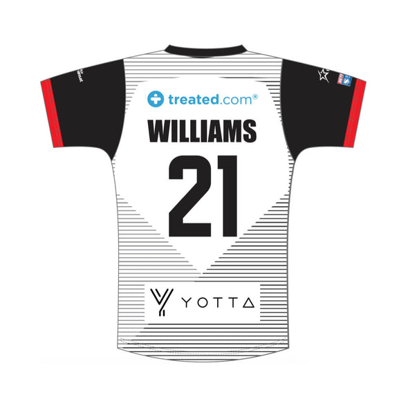 Personalised Toronto Wolfpack Home Replica - White
