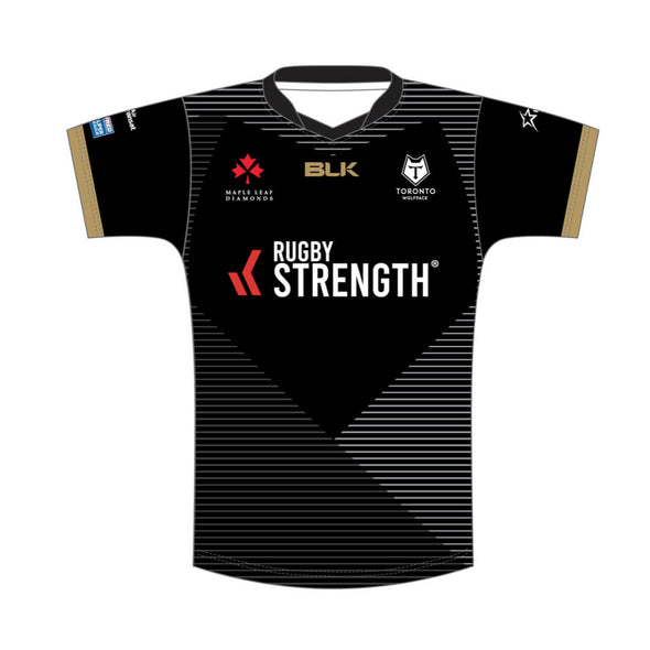 Toronto Wolfpack Away Replica Junior - Black - Pre Sale