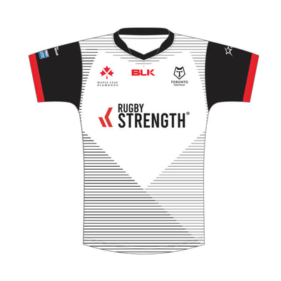 Toronto Wolfpack Home Replica Junior - White - Pre Sale